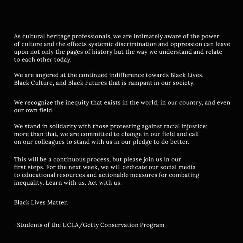 student statement
